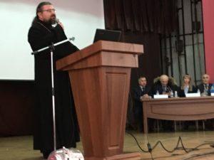 Выступление иерей Павла