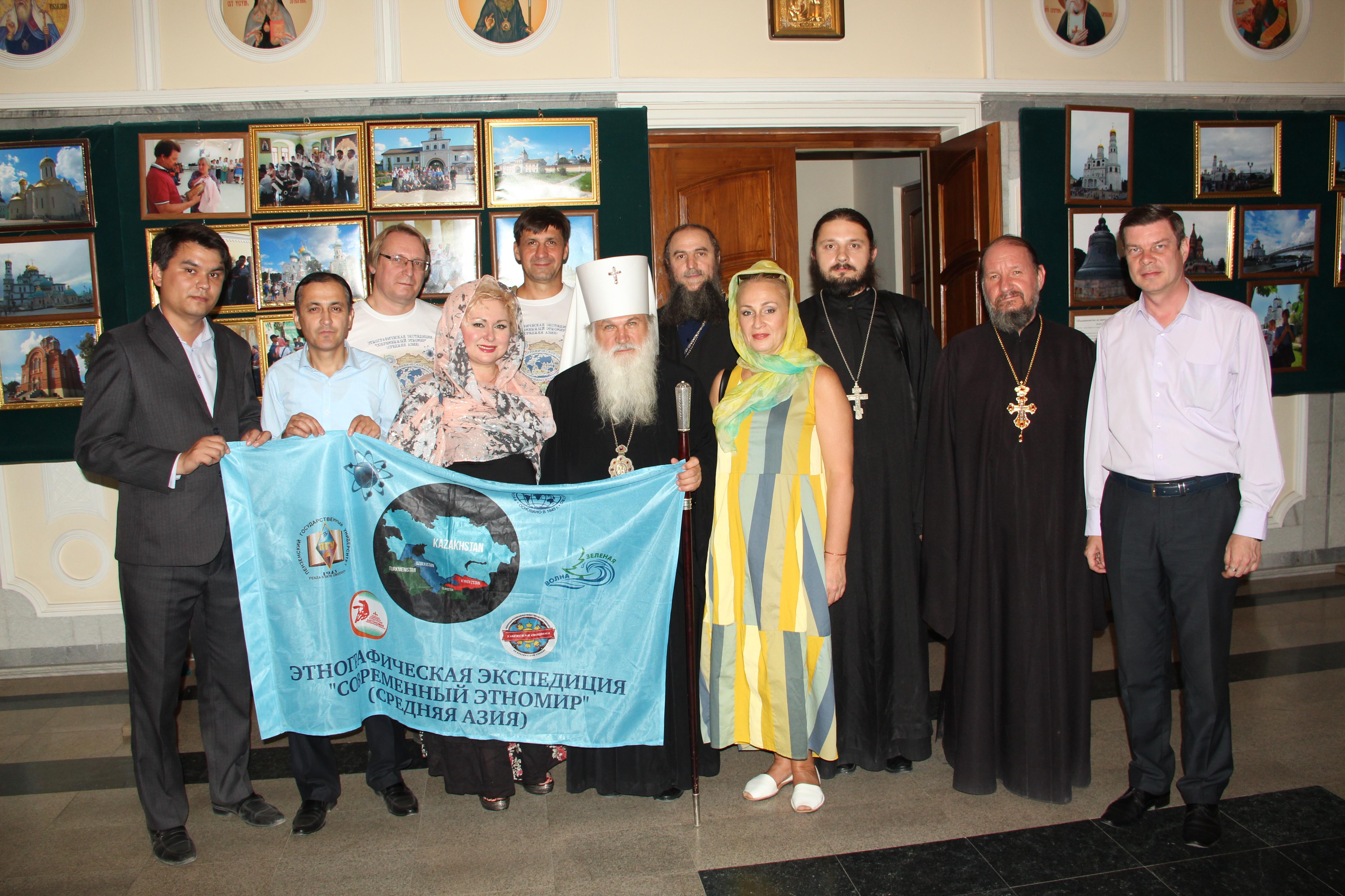 Встреча с митрополитом Ташкентским и Узбекистанским Викентием